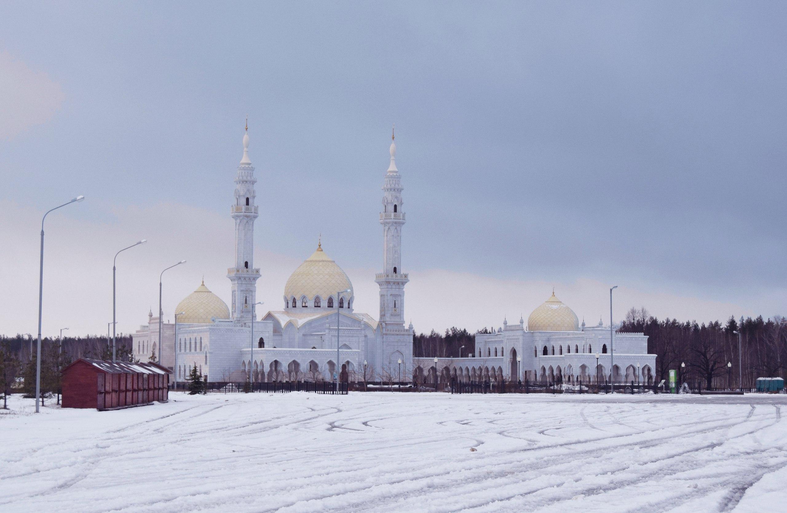 Болгар Белая мечеть