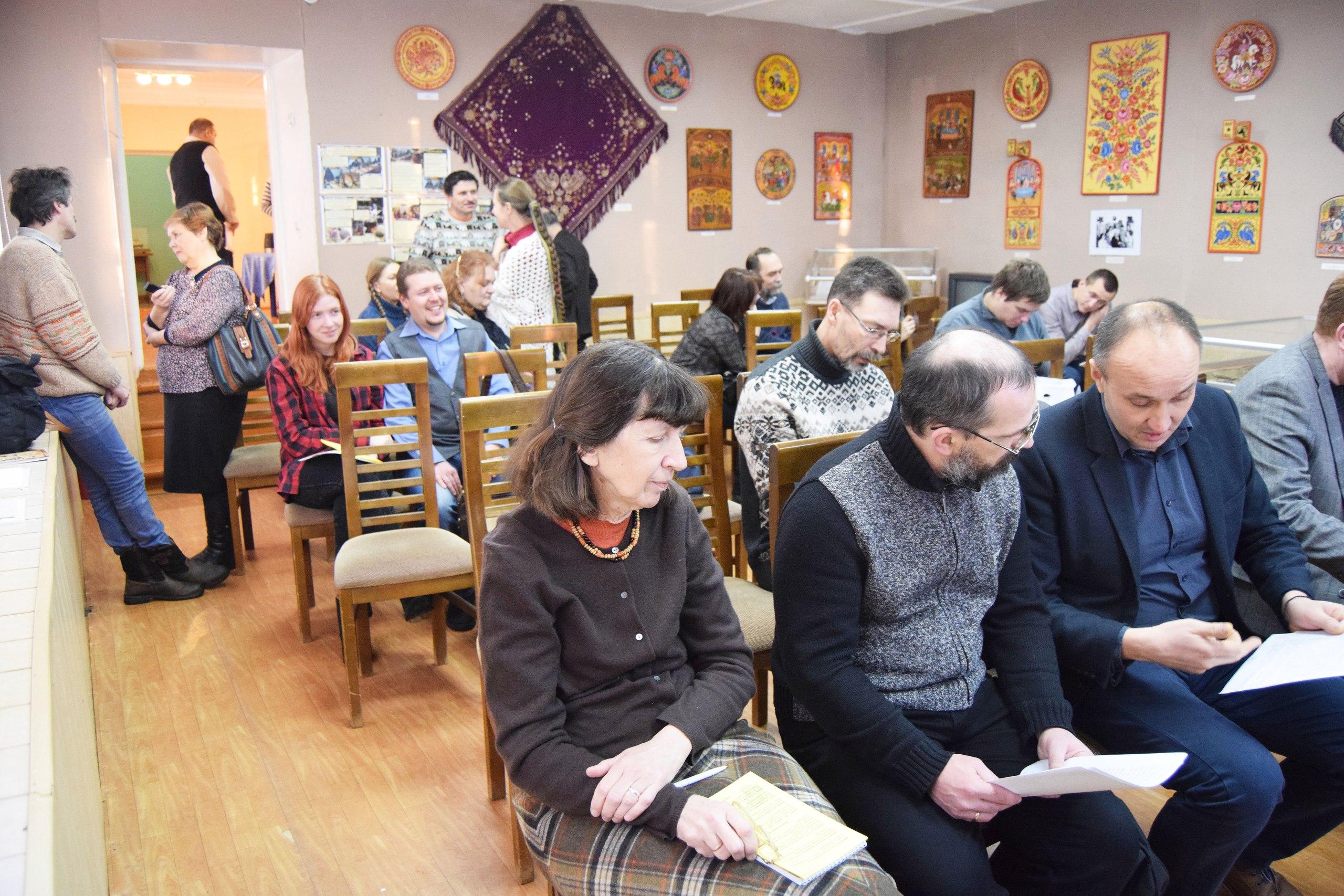В перерыве на II семинаре Археология Нижегородского Поволжья и сопредельных территорий