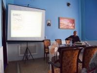 Выступление А.В. Новикова на конференции в Юрино к 60-летию Марийской археологической экспедиции