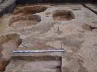 Кусочек раскопа 2016 года в Нерехте